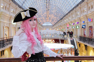 Pirate Barbie by palecardinal