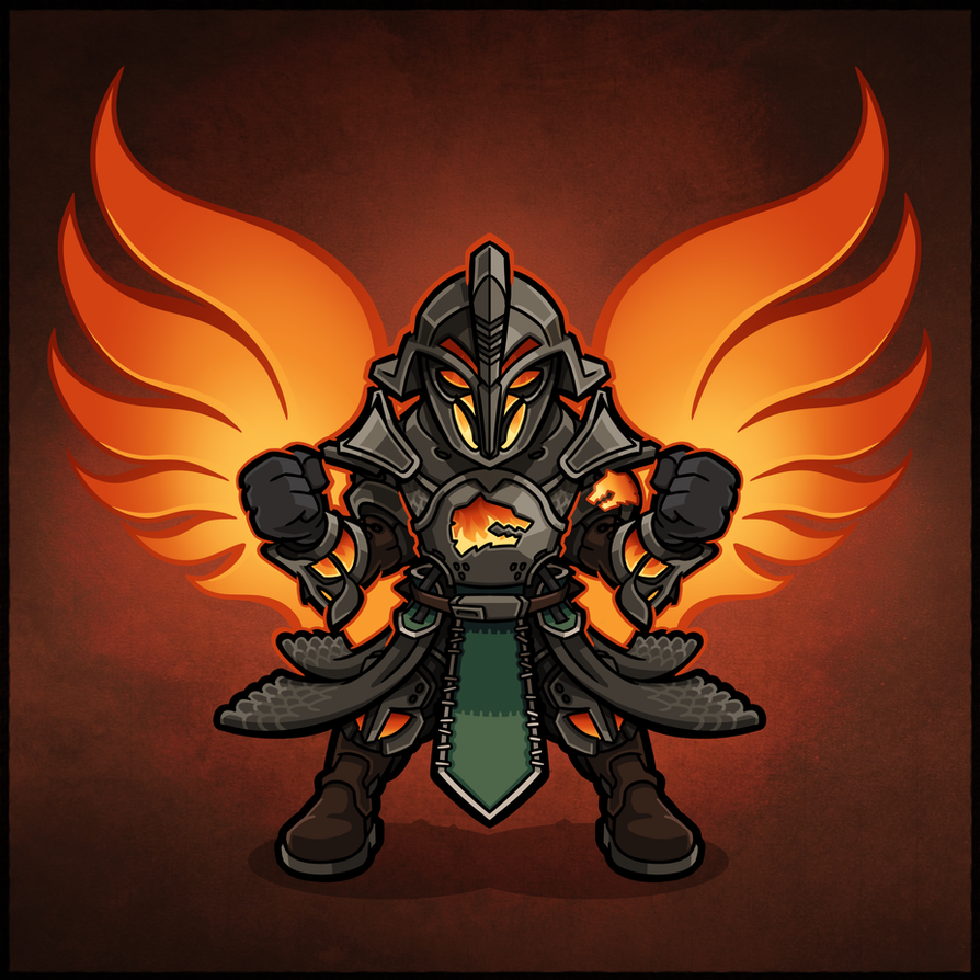 Iron Lord Sunsinger Warlock By IanPesty