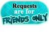 Stamp - for friends only - requests by Sha-cute