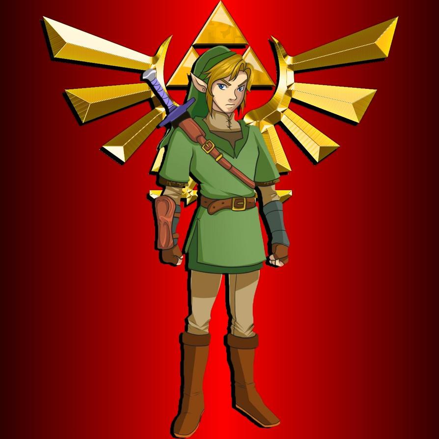 Link the Legend of Zelda by JanetAteHer