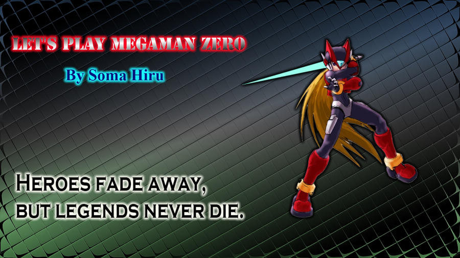 SomaHiru Fan Art Megaman Zero by JanetAteHer