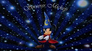 Fantasia-Sorcerer Mickey Wallpaper