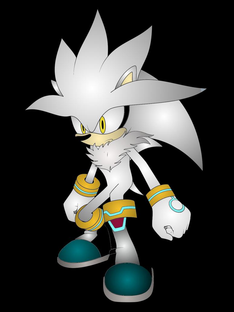 Silver the Hedgehog Render by JanetAteHer