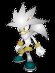 Silver the Hedgehog Render