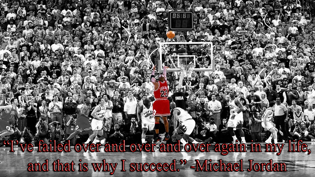 Michael Jordan Motivational Wallpaper by JanetAteHer