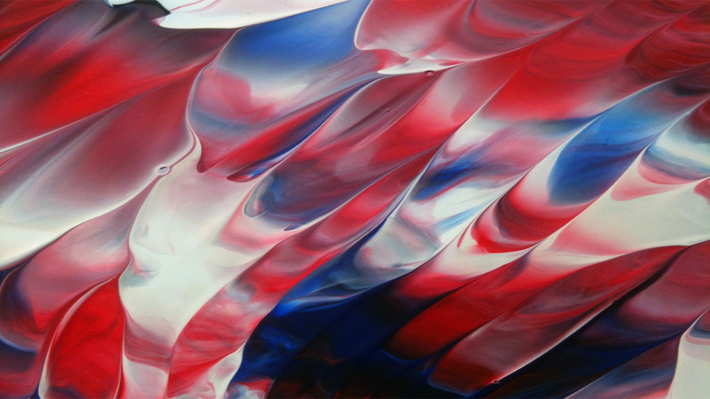 Red And Blue Abstract Wallpaper By JanetAteHer