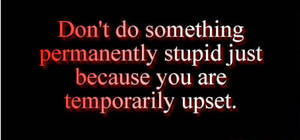 permanently stupid