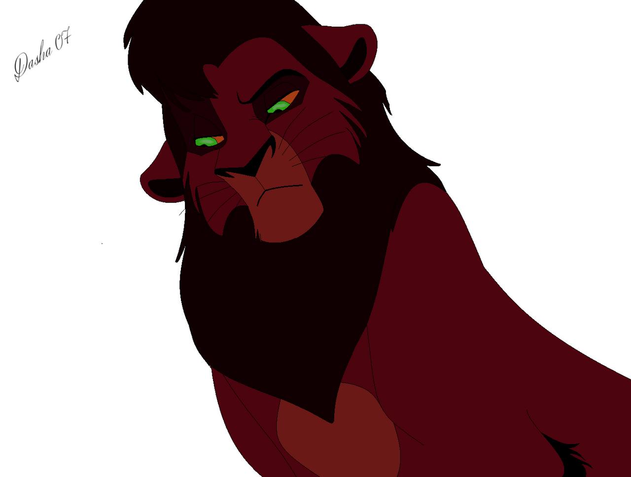 Kovu. The Lion King 2. by Dasha-Ukrainian on DeviantArt