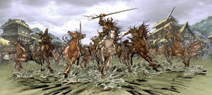 The Charge of the Samurai