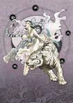 Divine Creature 3- White Tiger