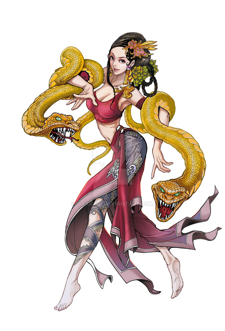 Zodiacs - Year of the Snake by daxiong