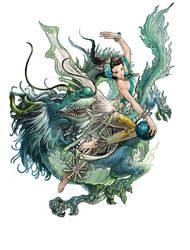 Dragon Spirit by daxiong