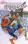 Boba Fett vs Spiderman Sketch from Megacon