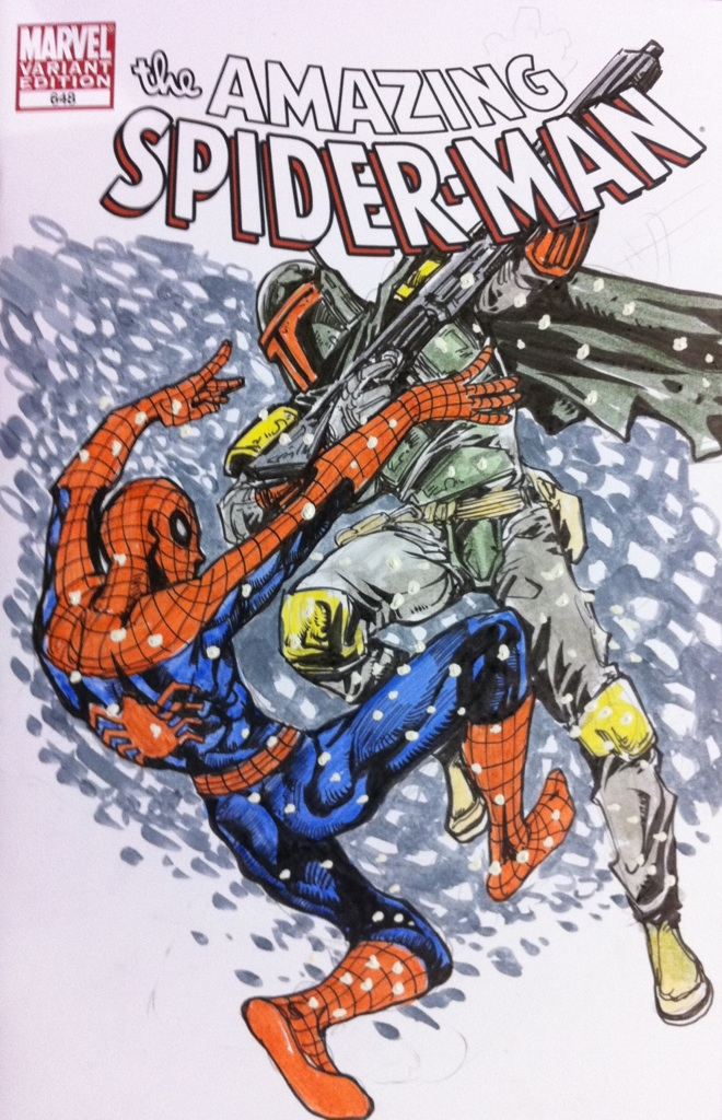 boba_fett_vs_spiderman_sketch_from_megac