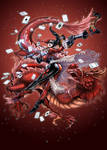 Harley Quinn WITH RED DRAGON