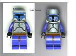 Jango Fett Lego Man