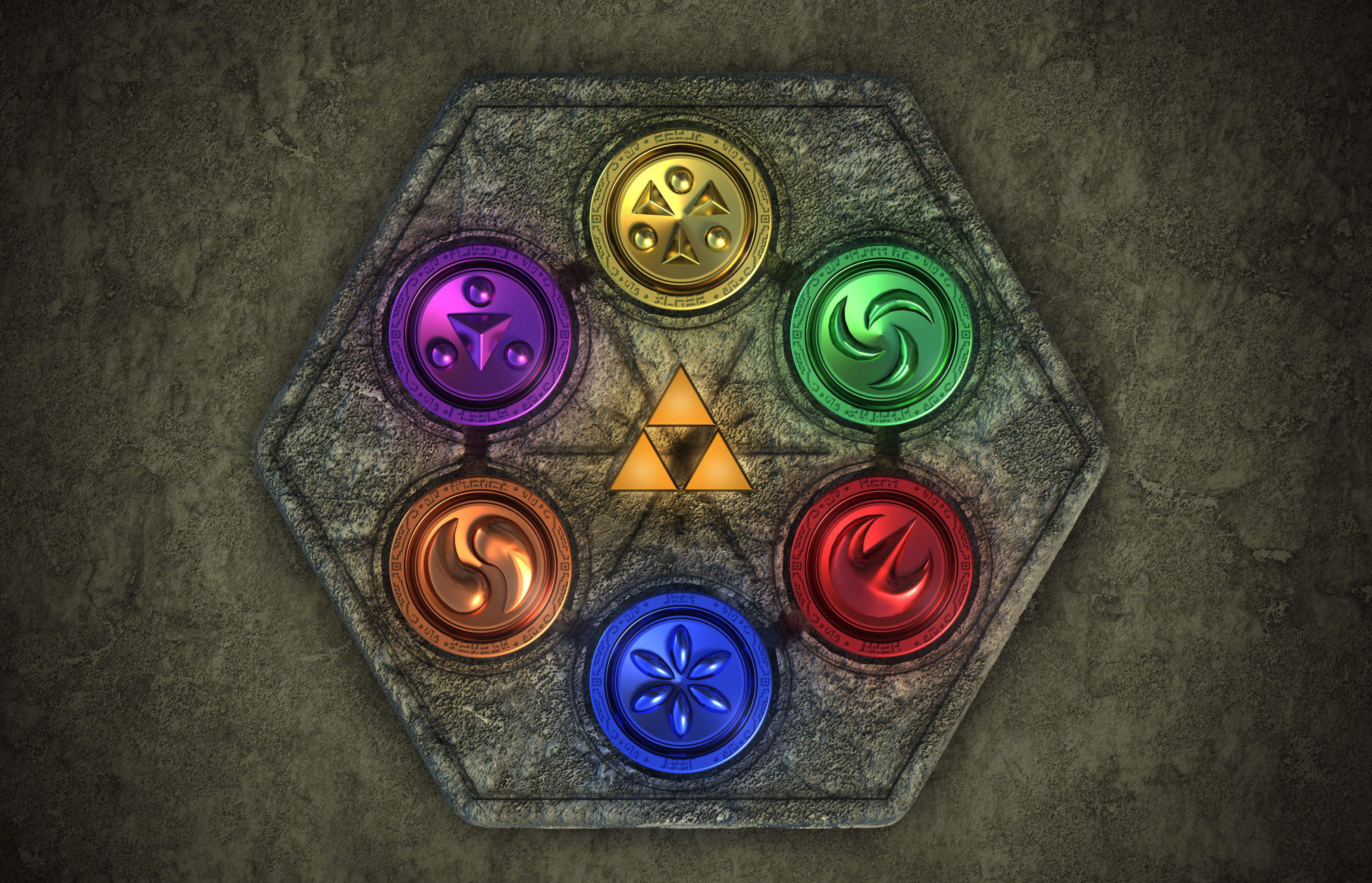 Medallions of the Sages by magicwaffles123