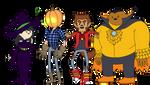 Bravest Warriors Halloween! by ShySheeple