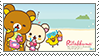 Rilakkuma Stamp- Hawaii by YellowKiiroitori