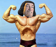 Lord Farquaad shirtless by Shrek4ever69