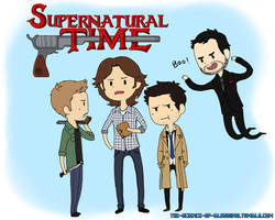 Supernatural Time~! by psycho-bunny-bunny