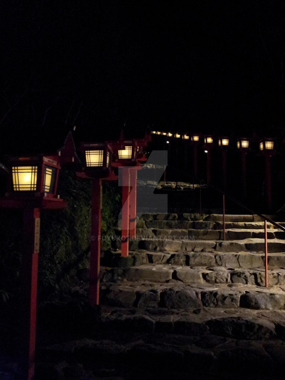 Kifune shrine (Kyoto) by Fuyuko7 on DeviantArt