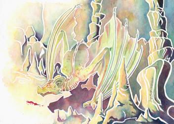 Bat dragon by Fuyuko7