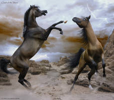 Clash of the Titans by taasia