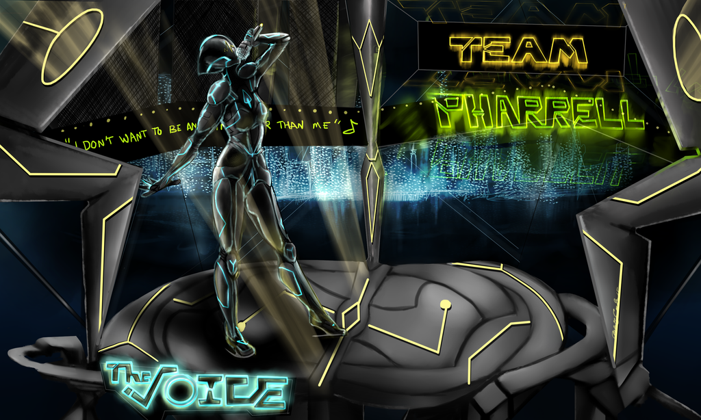 THE VOICE: Tron by xxAmaiKissxx