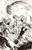 TMNT  Micro-Series #8 THE SHREDDER!!!! by dan-duncan