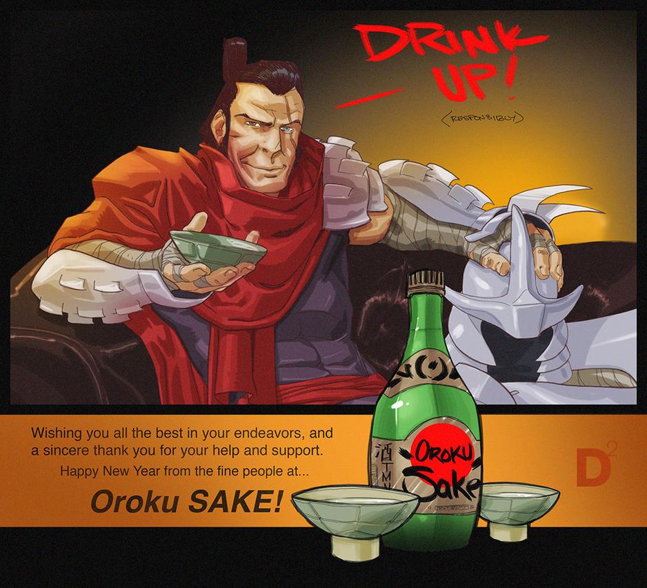 Oroku Sake by dan-duncan