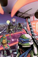 Turtles in Time #4 by dan-duncan