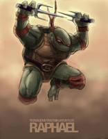 TMNT: Raphael by Zonrox