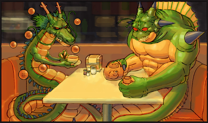 Shenron Porunga By Zonrox On Deviantart