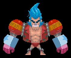 pixel Battle Franky 37 by Zonrox