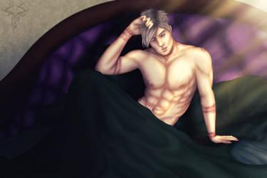 Sleep with demon they said, will be fun, they said by ShemeiArt