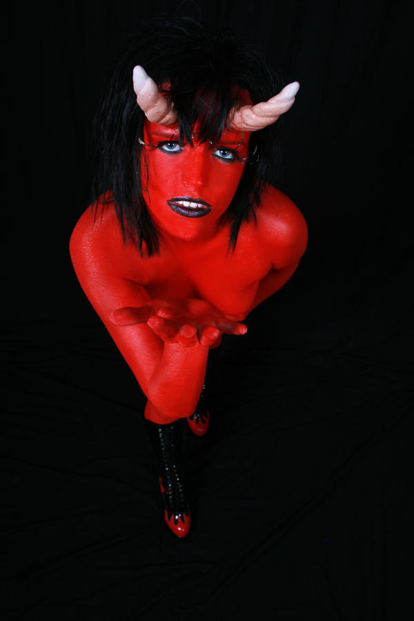 Devil Woman 3 by Deathrockstock