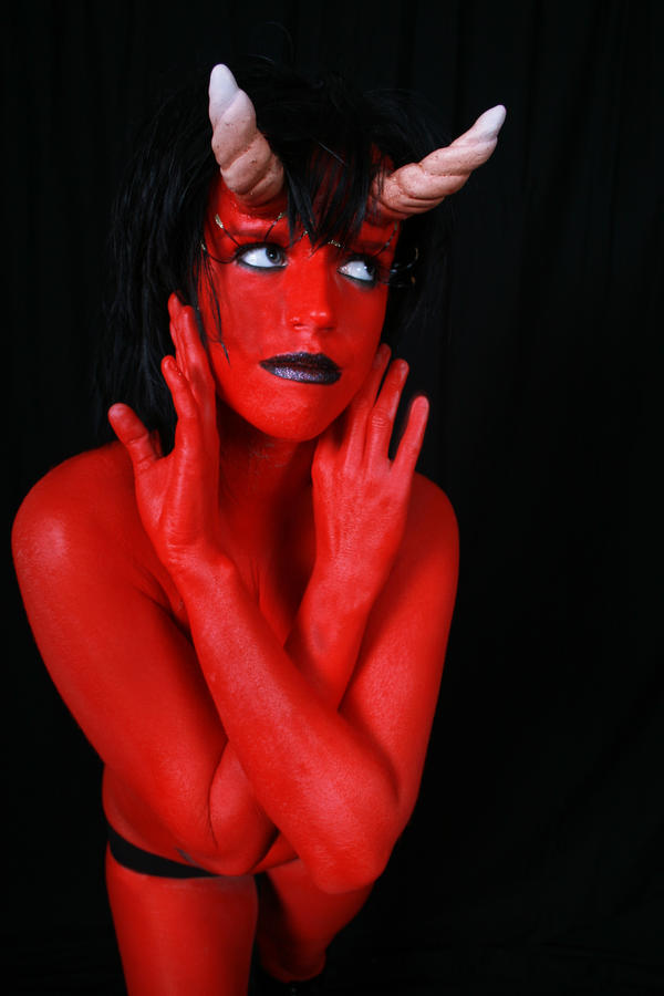 Devil Woman 5 by Deathrockstock