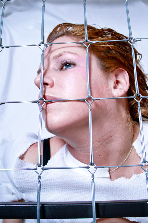 Candi B. Caged 19 by Deathrockstock