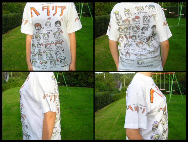 Hetalia T-Shirt by Table-Sama