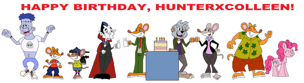 Happy Birthday HunterxColleen by HunterxColleen on DeviantArt