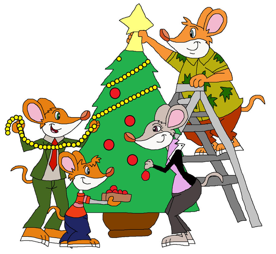 Decorating The Christmas Tree By HunterxColleen On DeviantArt