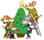 Decorating the Christmas Tree by HunterxColleen