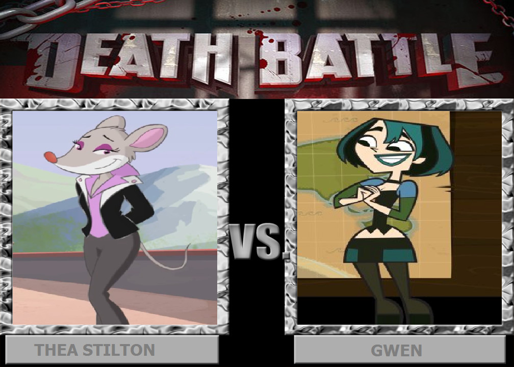 DEATH BATTLE: Thea vs Gwen by HunterxColleen