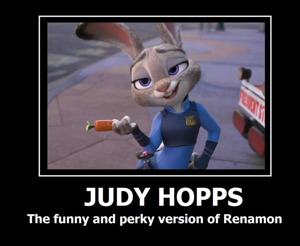 Judy Hopps Motivational poster by HunterxColleen
