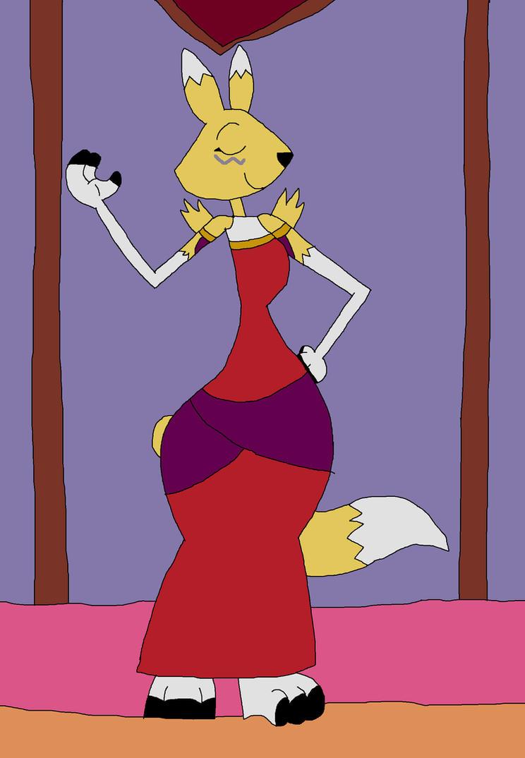 Renamon as Esmeralda by HunterxColleen