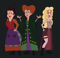 The Sanderson Sisters by HunterxColleen