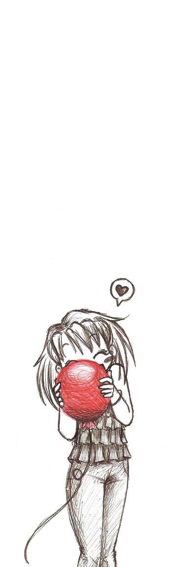 1st Red Ballon by MakeMeWantYou