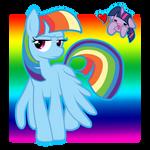 Rainbow Sparkle?? or Twilight Dash??