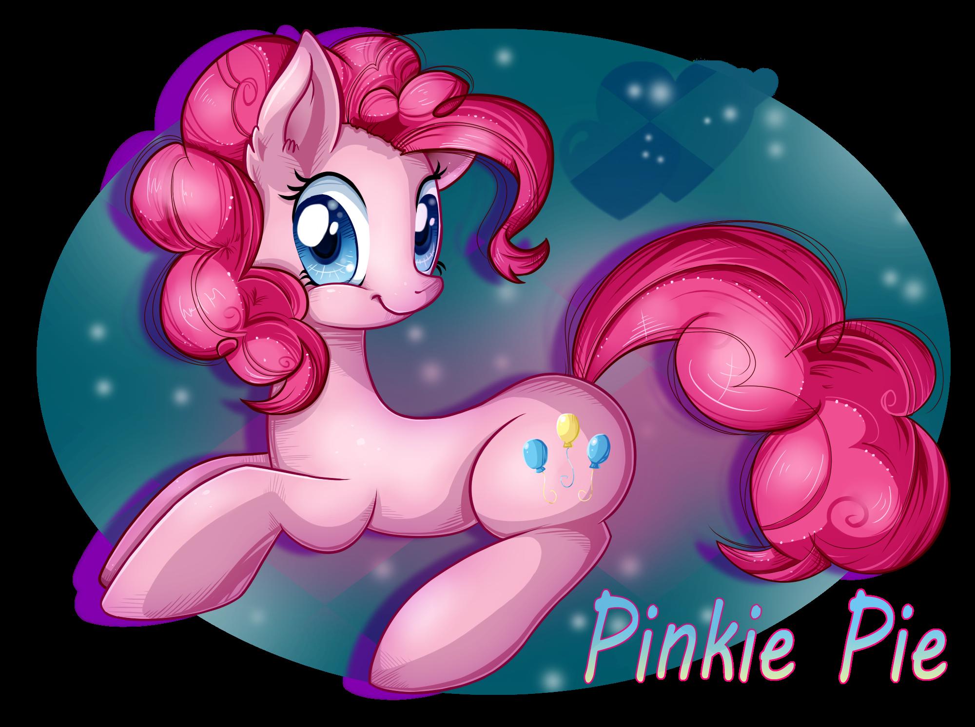 Hi, i'm Pinkie Pie ^u^ by Pauuh